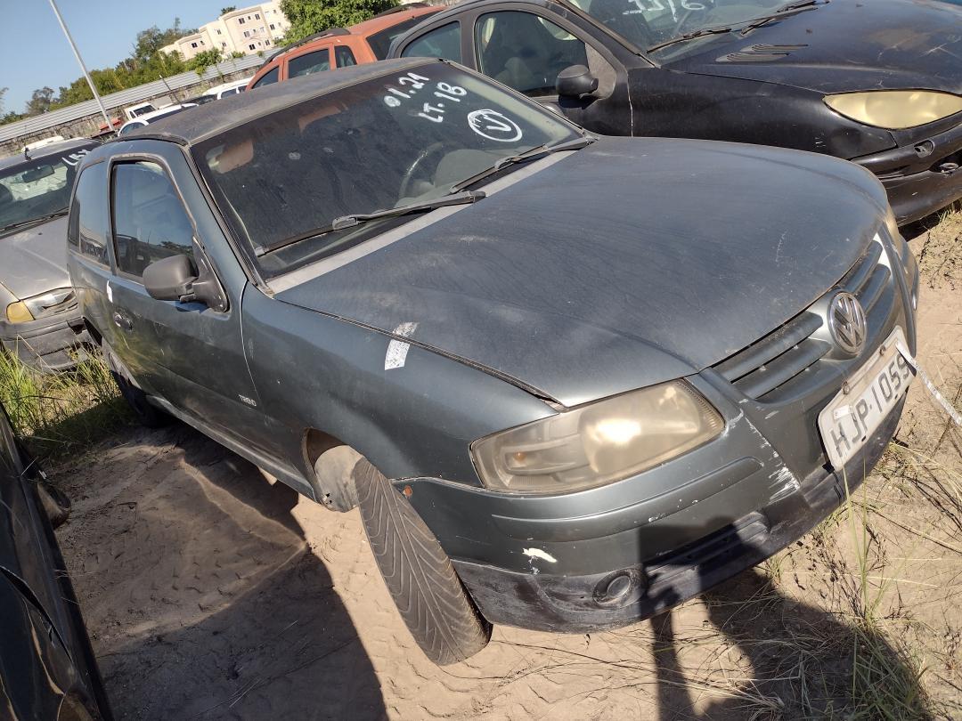VW/GOL 1.0 GIV CINZA 2008/2009