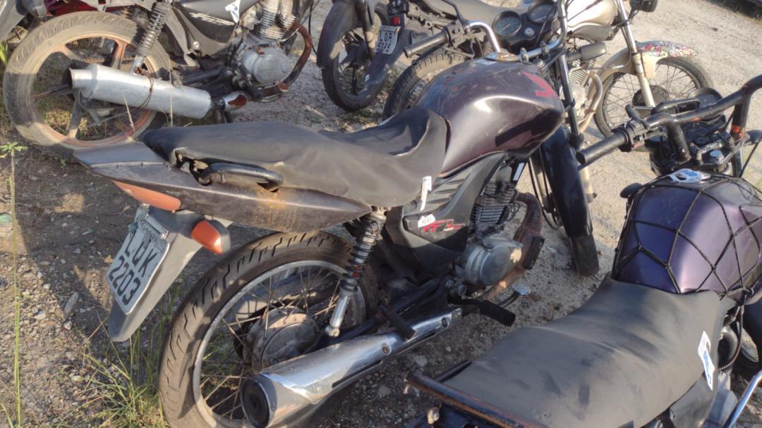 HONDA/CG 125 FAN ES ROXA 2012