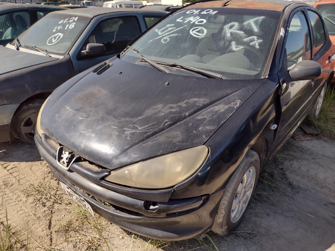 PEUGEOT/206 14 FELINE FX PRETA 2006